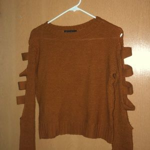 Sweaters - Brown light sweater